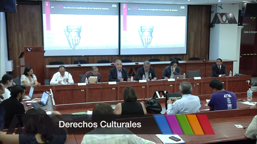 La UAM de cara a la Constitución de la CDMX: Derechos Culturales