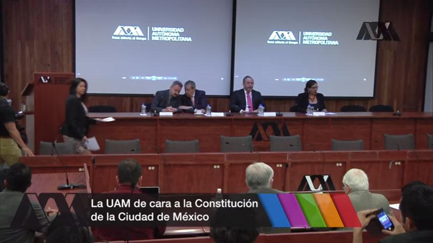 La UAM de cara a la Constitución de la CDMX: Inauguración del Seminario