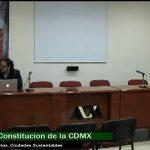 La Constitución de la Ciudad de México; realidades y retos. Ciudad Sustentable
